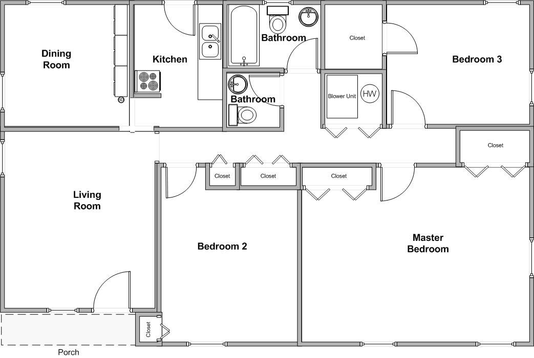 Walton home sweet home again llc for Walton house floor plan